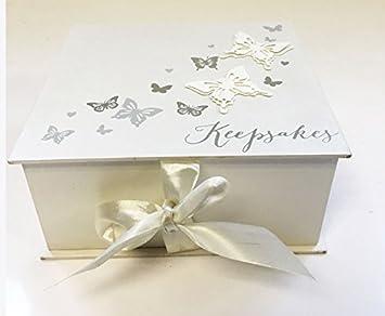 Amazon.com : Juliana Large Plain Wedding Day Keepsake Box Gift Box ...
