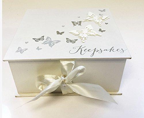 Large Plain Wedding Day Keepsake Box Gift Box Memory Box New Baby ...