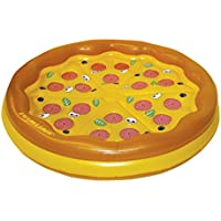 Swimline Personal Pizza Island Swimming Pool Float