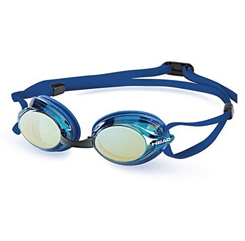 Venom 2.0 Mirrored Lens Swim Goggles, Blue