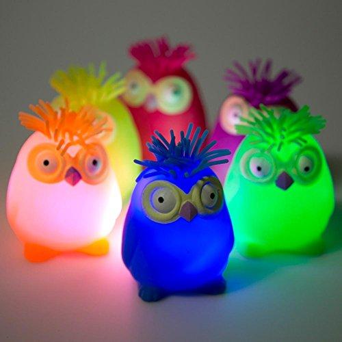 Rhode Island Novelty Flashing Owl Puffer - Light Flashing Novelties