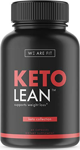 Keto Lean - Ketogenic Supplement - Includes Garcinia Cambogia, Green Tea & More, 60 Veggie -
