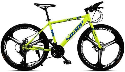 DDSCT Bicicleta de montaña 26 Pulgadas, Doble Disco, Freno de una ...