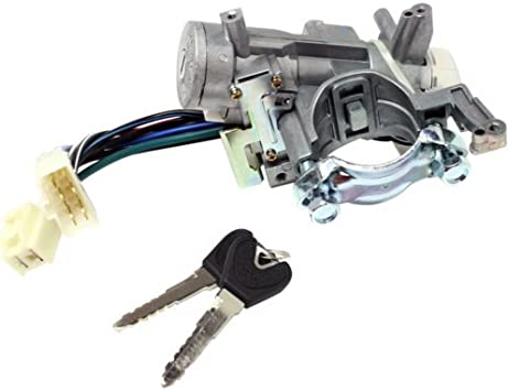Amazon Com Ignition Lock Cylinder Compatible With Ford Escort 97 03 Silver 8 Male And Female Blade Type Terminals Automotive
