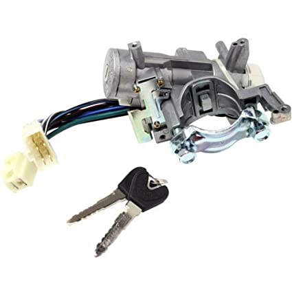 Ignition Lock Cylinder Replacement >> Ignition Lock Cylinder For Ford Escort 97 03 Silver 8 Male And Female Blade Type Terminals
