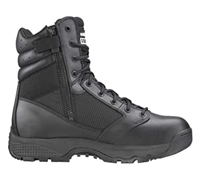 "Original SWAT WinX2 8"" Men's Boots Side-Zip Black Size Wide 8.5 1012W-BLK-08.5W"