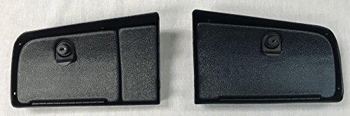 Star Car And Equivelent EZ Install Golf Cart Locking Glove Box Door Set In Black