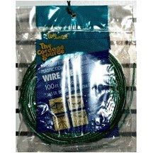 Wa Clothesline (Cordage Source 58 P-WA Wire Ctr Clothesline Green #5 x 100 [Kitchen])