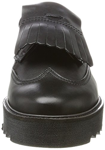 70814243402125 Up Schwarz Black Marc Mocassins Shoe O'Polo Femme Lace 7qTxavS