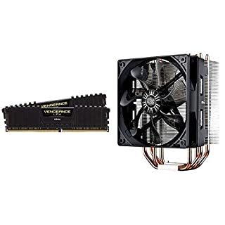Corsair Vengeance LPX 16GB (2x8GB) DDR4 DRAM 2400MHz C16 Desktop Memory Kit w/Cooler Master Hyper 212 Evo CPU Cooler (B07KNDRHGK) | Amazon price tracker / tracking, Amazon price history charts, Amazon price watches, Amazon price drop alerts