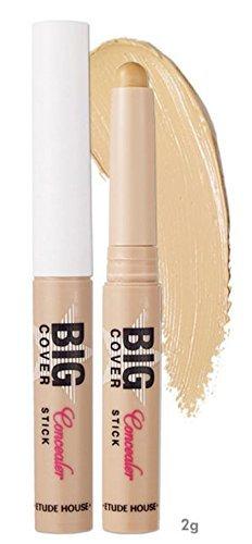 2g Sand (Etude House Big Cover Stick Concealer 2g 2 / Beautynet Korea (#Sand))