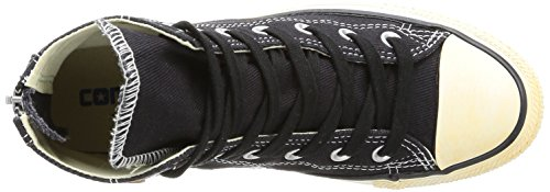 mujer Hombre Taylor Star Back Negro Zapatillas Zip Chuck All Converse pFwxRn80x