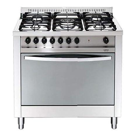 Lofra MG96MF/C - Cocina (Cocina independiente, Acero inoxidable ...