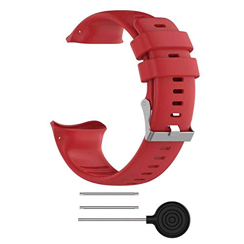 (For POLAR Vantage V Smart Watch Accessories Polar Bands Replacement Silicone Strap Wrist Strap)