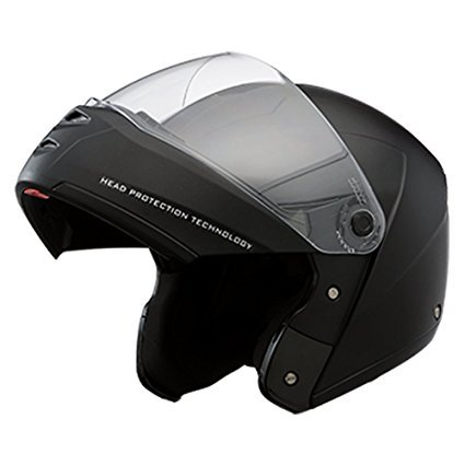 7427447f Image Unavailable. Image not available for. Colour: Studds Ninja Elite Flip  Up Trendy Helmet for Men and Women (XL - 59 -
