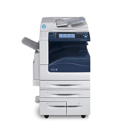 Xerox Workcentre 7845i Tabloid-Size Color Multifunction Laser Copier - 45ppm, Copy, Print, Scan, Auto Duplex, Network, 2 Trays, High Capacity Tandem Tray (Renewed)