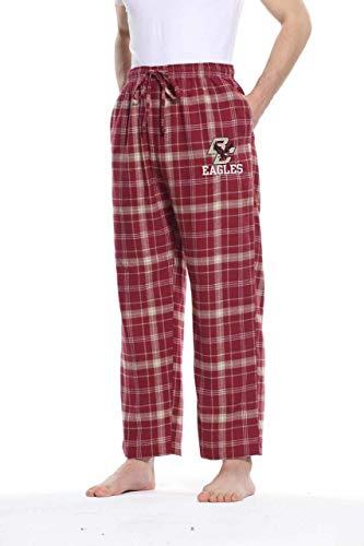Boston College Eagles Adult NCAA Team Pride Flannel Lounge Pants - Team Color, Medium
