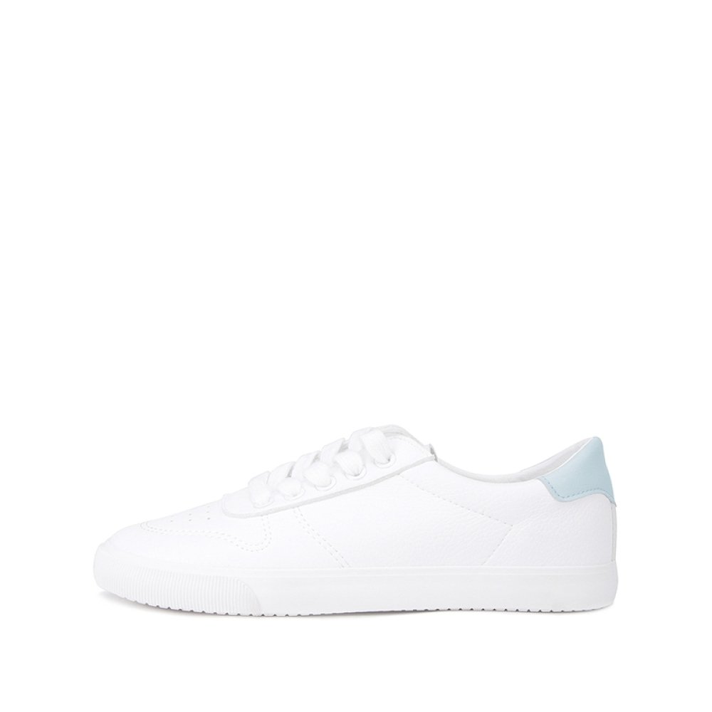 DHG Lady Spring College Damenschuhe, Süße Lady DHG Fashion Casual Schuhe, Flache Weiße Schuhe,Grün,37 03c740