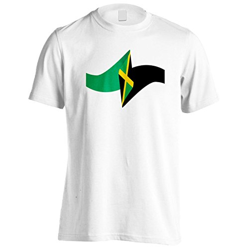 Neue Jamaika Flagge Reise Welt Herren T-Shirt m145m