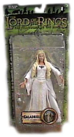 Lords of The Rings The Fellowship of The Ring 7 Inch Action Figure - Galadriel - Lady of Light -
