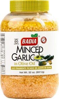 Badia Minced Garlic in Olive Oil 32 oz
