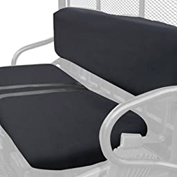 Classic Accessories QuadGear UTV Seat Cover (Black, Fits Polaris Bench)