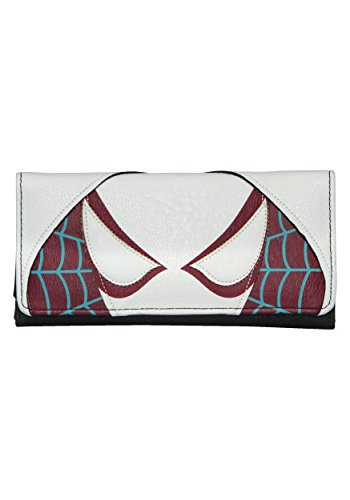 Spider Gwen Face Tri-Fold Wallet Standard from Loungefly