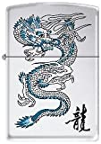Zippo Lighter 250 Dragon Blue