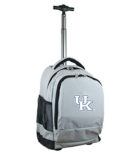 Denco NCAA Kentucky Wildcats Expedition Wheeled Backpack, 19-inches, Grey (Kentucky Ncaa Laptop Bag Wildcats)