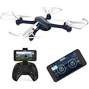 ddd81cdf820 Hubsan h216a Drone with 1080P Wide-Angle HD Camera WiFi FPV Live Video and  GPS Return Home RC Quadcopter for Adults Beginners.