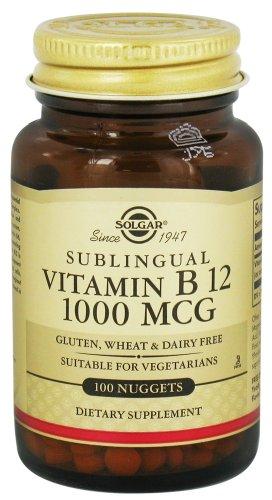 Solgar Vitamin B12 Sublingual 1000 mcg.