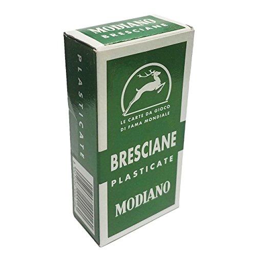 Modiano Bresciane 90 Italian Regional Deck 52 Playing Cards Brescia Italia