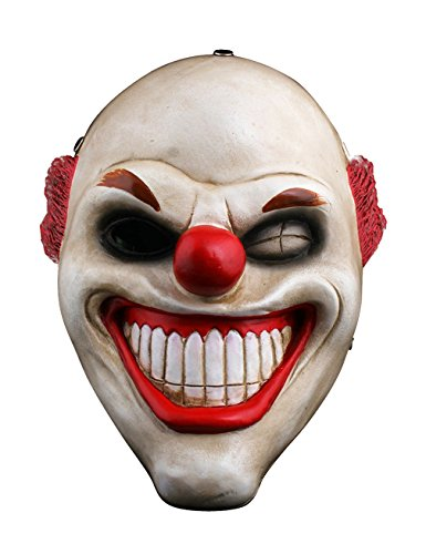 Gameyly Sweet Tooth Clown Cosplay Mask Halloween Horror Mask One Size