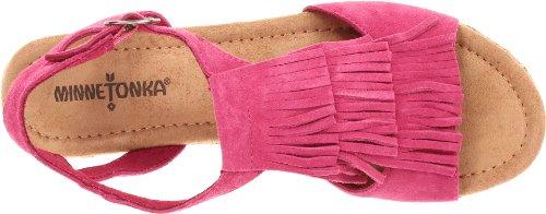 Central Fuchsia femme compensées chaussures Pink Rose Minnetonka Oq06pq