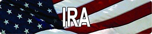 Any and All Graphics American USA Flag IRA 8