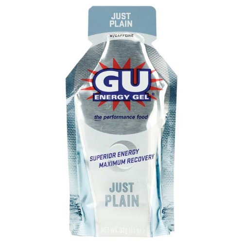 GU Sports Energy Gel Just Plain
