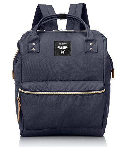 Anello Official Blue Japan Fashion Shoulder Rucksack Backpack Hand Carry Tablet Diaper Bag Unisex by Anello