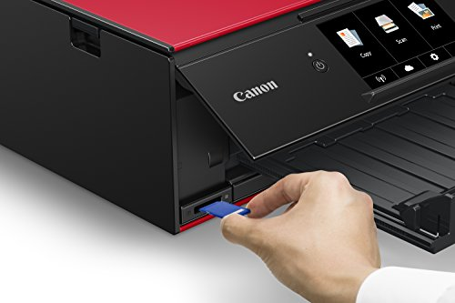 Canon Wireless Printer with Copier: Mobile Printing, with Airprint Google Cloud Red