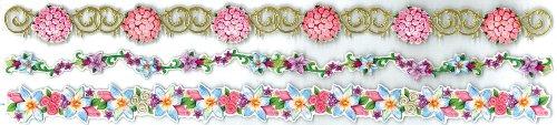 Jolee's Boutique Dimensional Border Stickers, Wedding Bouquets (Wedding Flower Borders)