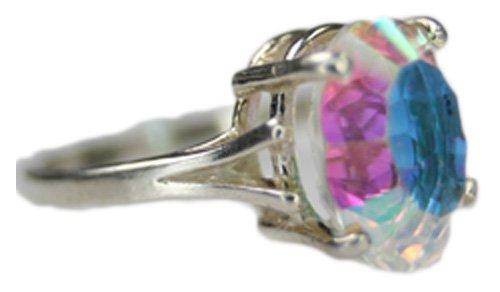 35ct Ring (Alaska Arctic Hand Set 35 carat Sterling Silver)
