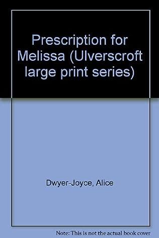 book cover of Prescription for Melissa