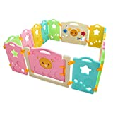 14 Panel Baby Playpen Kids Safety Activity Center Play Yard