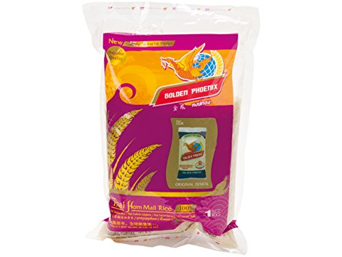 Golden Phoenix Jasmin Duftreis Langkorn 1kg - Home Mali Rice Thailand