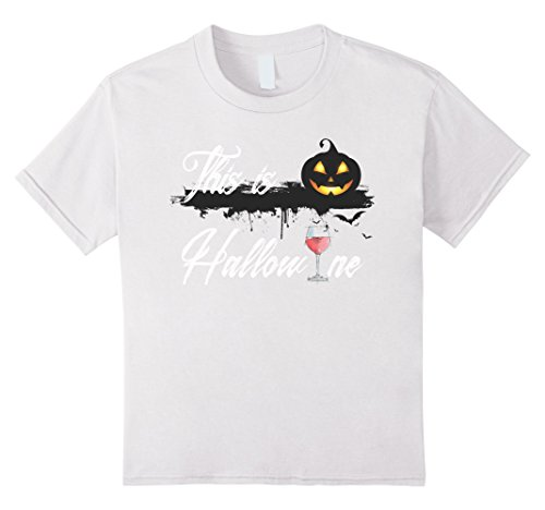 Kids Funny Happy Hallowine on October 31st - Halloween 2017 6 White (Happy Halloween October 31 2017)