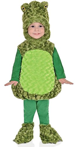 Underwraps Baby's Big Mouth Frog Belly-Babies, Green, X-Large