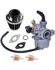 PZ19 Carburetor with Air Filter Cable Choke Compatible With 50cc 70cc 90cc 110cc 125cc Chinese ATV Quad Go-kart