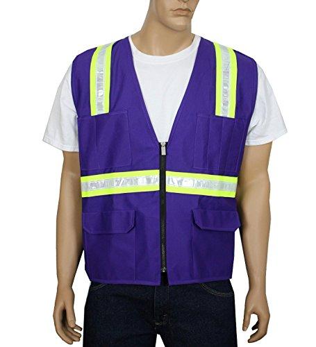 Safety Depot Customizable Reflective 8038 Purp