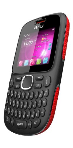 BLU Q170T Samba TV Unlocked Dual SIM Quad-Band GSM Phone (Black/Red)