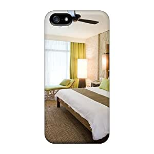 High Grade LRHJ Flexible Tpu Case For Iphone 5/5s - Mpdern Bamboo Bedroom by mcsharks