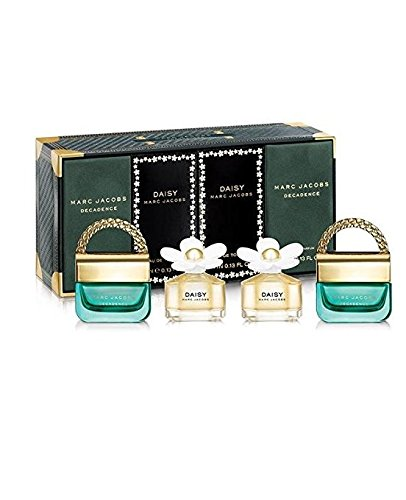 Marc Jacobs Fragrances Variety Women's Mini Gift Set, 4 Count